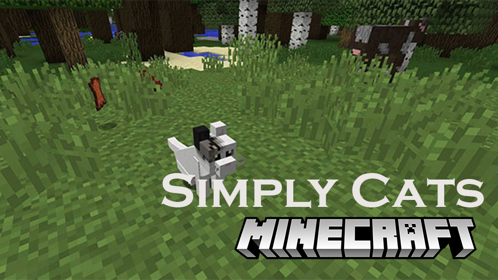 Simply Cats mod for minecraft