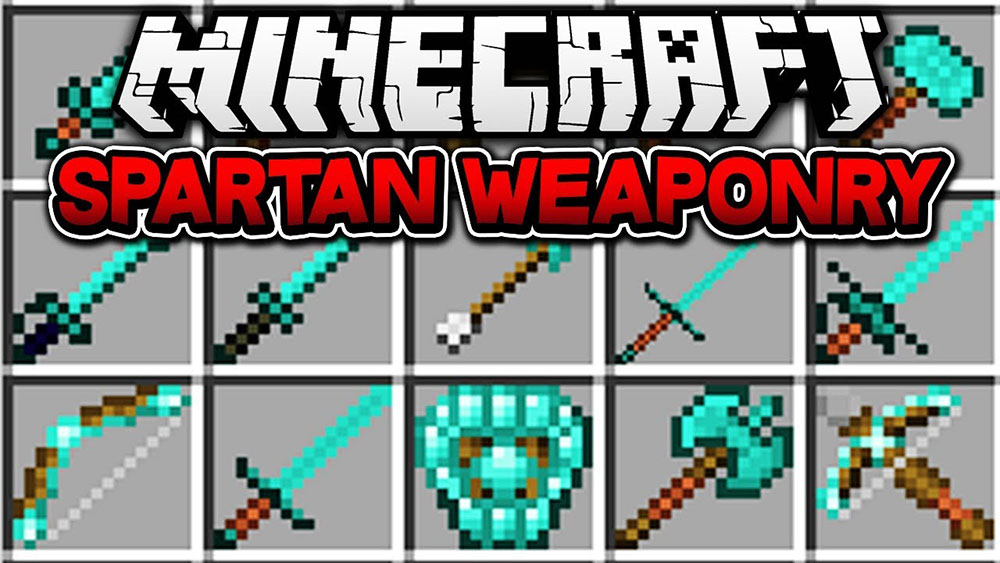 Spartan Weaponry mod for minecraft