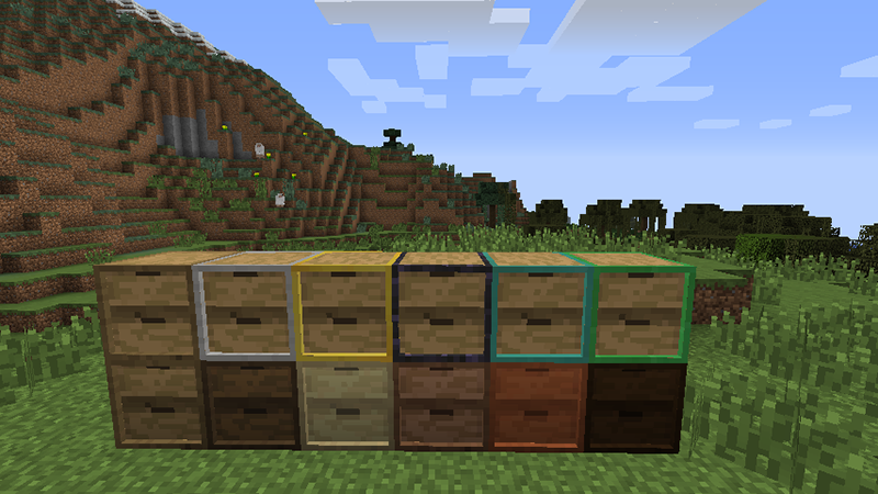Storage Drawers Mod 15