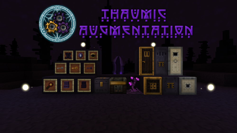 Thaumic Augmentation mod for minecraft