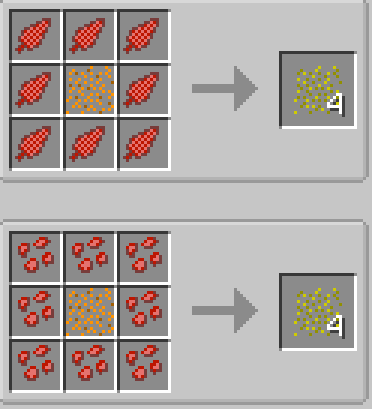 The Veggie Way mod for minecraft recipes 05