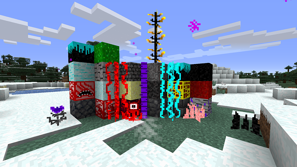 Towers Of Nether mod for minecraft screenshots 01