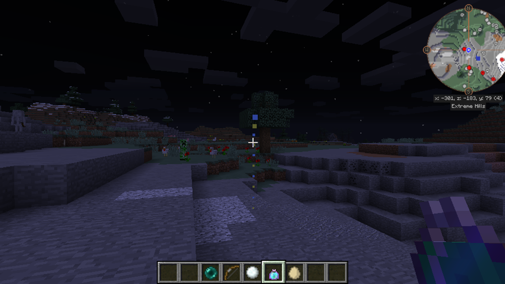 Trajectory Preview mod for minecraft screenshots 03