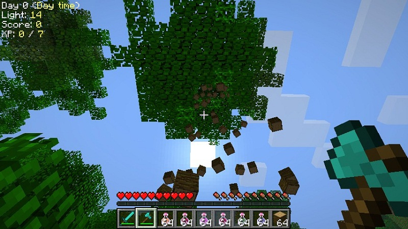minecraft fantasie tree