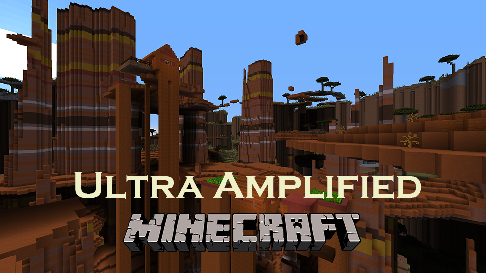 Ultra Amplified mod for minecraft
