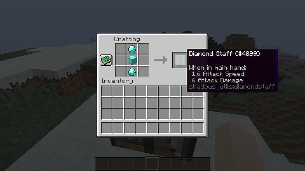 Utility Staffs mod for minecraft recipes 03