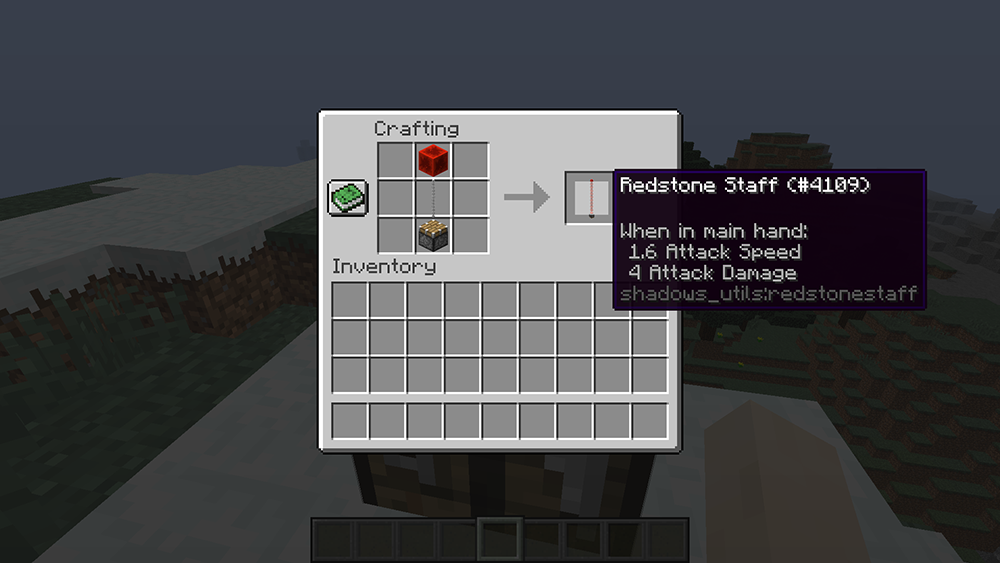 Utility Staffs mod for minecraft recipes 06