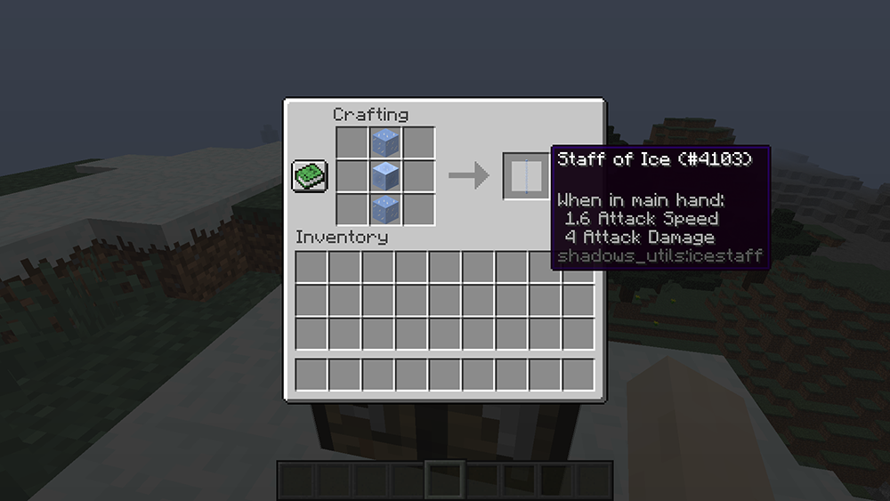 Utility Staffs mod for minecraft recipes 08