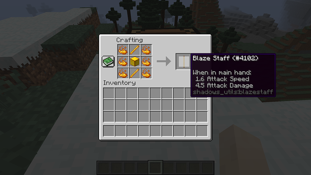 Utility Staffs mod for minecraft recipes 10