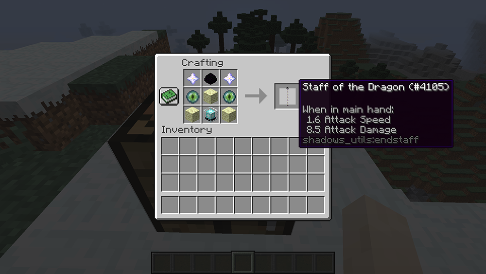 Utility Staffs mod for minecraft recipes 12