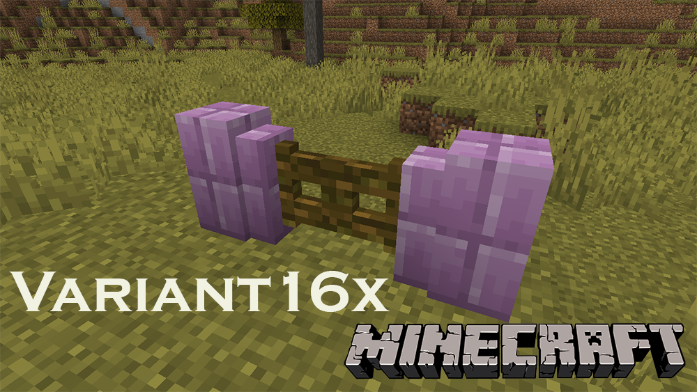 Variant16x mod for minecraft