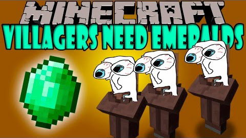 how to make villagers follow you in minecraft