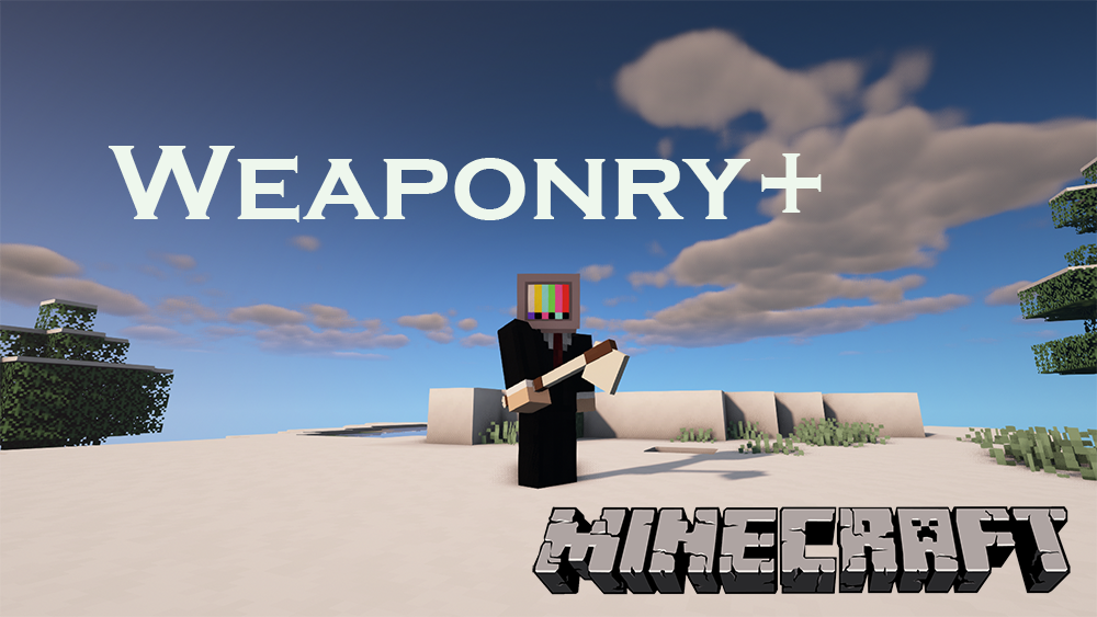 Weaponry Plus mod for minecraft