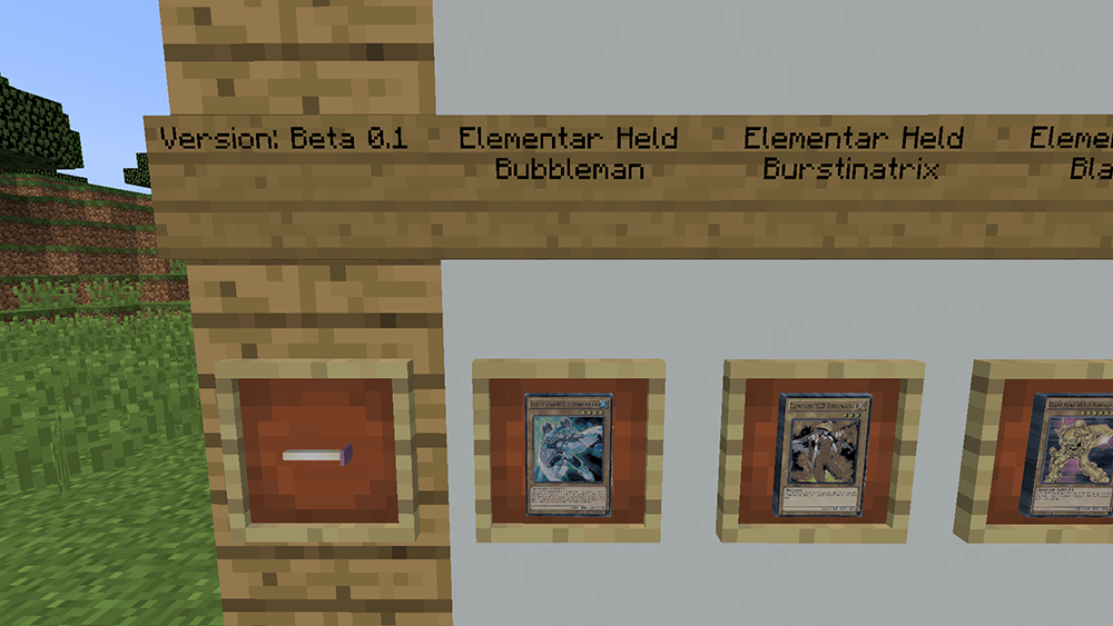 Yugioh Plus mod for minecraft screenshots 02