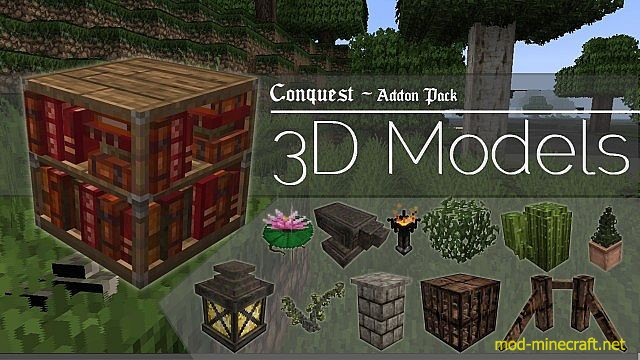 3d models for conquest resource pack 1 8 2 1 8 1 1 8 Minecraft 3d model maker