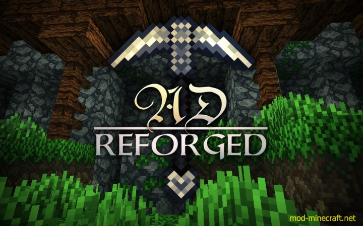 AD reforged resource pack [1.9.4/1.9] [32x] AD Reforged Texture Pack Download