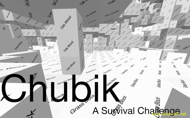 Chubik Resource Pack ? A Minimalistic Survival Challenge