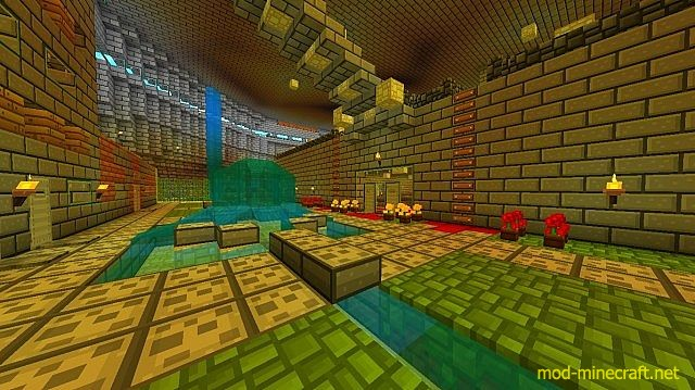 D cor resource pack 1 8 1 mod for 9minecraft decoration mod