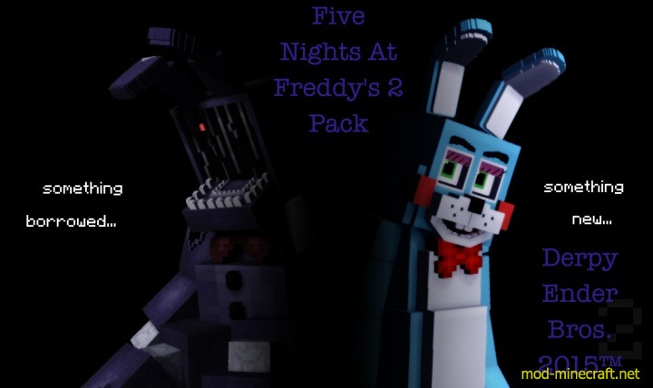 Derpy Ender Bros – FNaF 2 Resource Pack 1.8.7/1.8