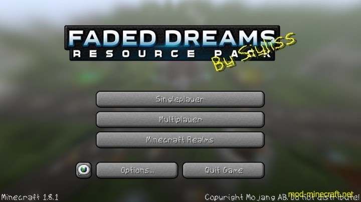 Faded dreams resource pack 2 [1.9.4/1.8.9] [64x] Faded Dreams Texture Pack Download