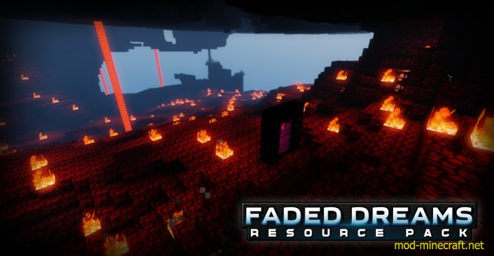 Faded dreams resource pack 3 [1.9.4/1.8.9] [64x] Faded Dreams Texture Pack Download