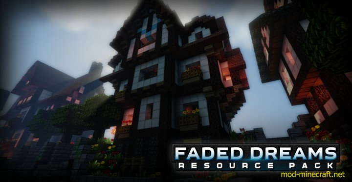 Faded dreams resource pack 4 [1.9.4/1.8.9] [64x] Faded Dreams Texture Pack Download