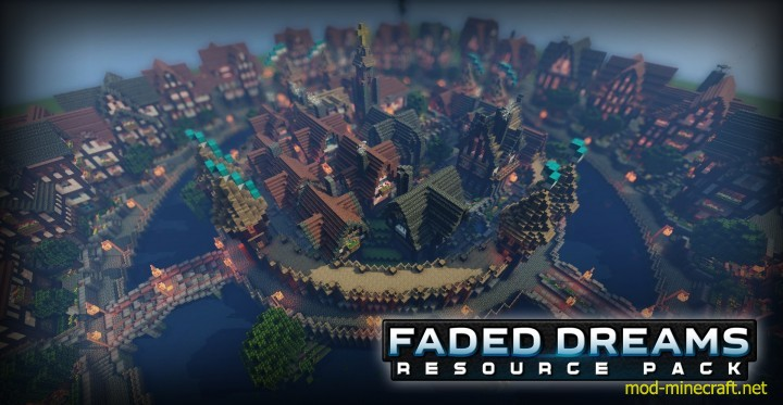 Faded dreams resource pack 5 [1.9.4/1.8.9] [64x] Faded Dreams Texture Pack Download