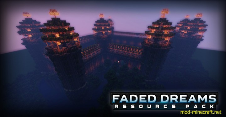 Faded dreams resource pack 6 [1.9.4/1.8.9] [64x] Faded Dreams Texture Pack Download