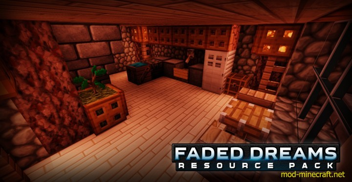 Faded dreams resource pack [1.9.4/1.8.9] [64x] Faded Dreams Texture Pack Download