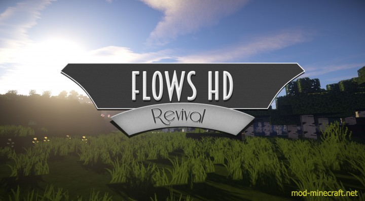Flows HD Revival Resource Pack 1.8.8/1.8 by Exevium