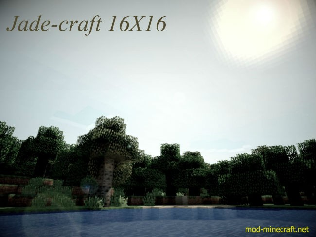 JadeCraft Resource Pack 1.8.7/1.8/1.7.10
