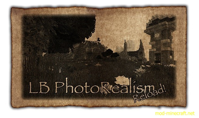 LB PhotoRealism Reload 3D Resource Pack 1.8.8/1.8/1.7.10