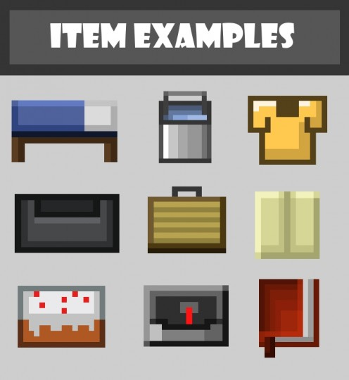 Mad pixels cartoony pack 4 [1.9.4/1.8.9] [16x] Mad Pixels [Cartoony] Texture Pack Download