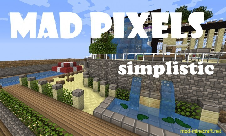 Mad pixels cartoony pack [1.9.4/1.8.9] [16x] Mad Pixels [Cartoony] Texture Pack Download