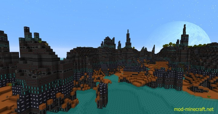Norzeteus space resource pack 1 [1.9.4/1.8.9] [128x] Norzeteus Space CTM Texture Pack Download