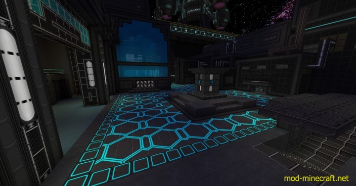 Norzeteus space resource pack 3 [1.9.4/1.8.9] [128x] Norzeteus Space CTM Texture Pack Download
