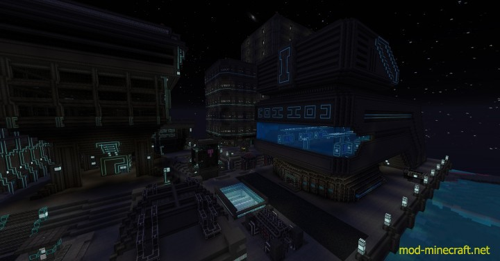 Norzeteus space resource pack 5 [1.9.4/1.8.9] [128x] Norzeteus Space CTM Texture Pack Download
