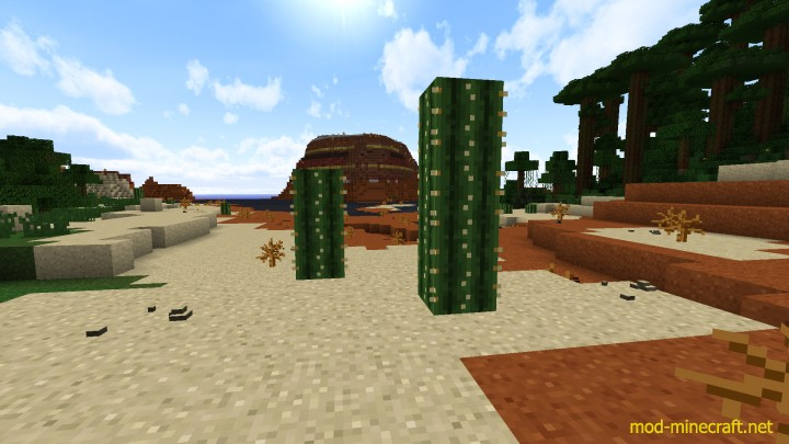 Realistic default resource pack 5 [1.9.4/1.8.9] [16x] Realistic Default Texture Pack Download
