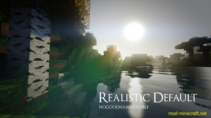 Realistic default resource pack [1.9.4/1.8.9] [16x] Realistic Default Texture Pack Download