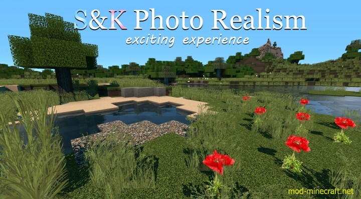 S&K Photo Realism Resource Pack 1.8.3/1.8/1.7.10
