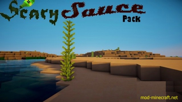 ScarySauce Resource Pack 1.8.6/1.8