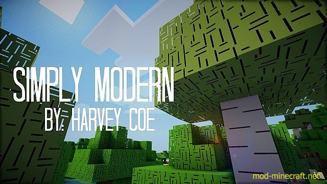 Simply Modern Resource Pack 1.8.8/1.8