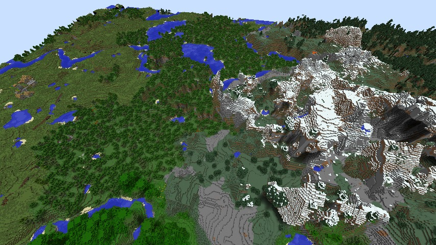 Floating Mountains Town Seed 1 7 9 1 7 5 Mod Minecraft Net