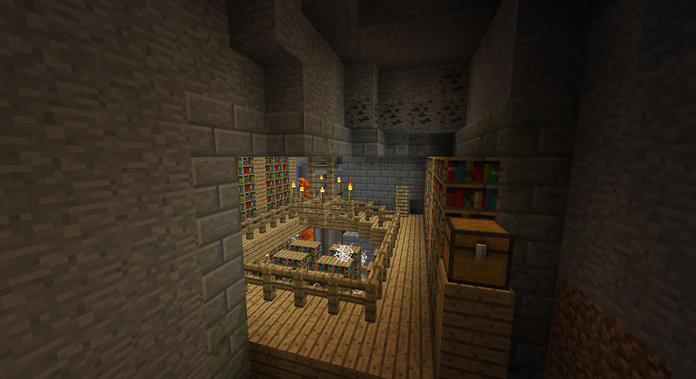 Stronghold Library Seed for Minecraft 1.4.7 - Mod ...