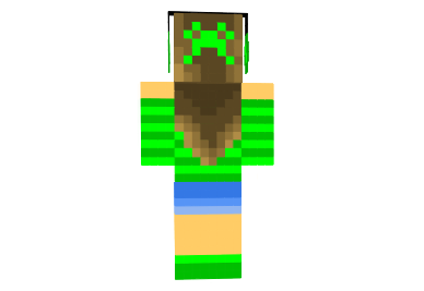 http://img.mod-minecraft.net/Skin/Cute-green-girl-skin-1.png