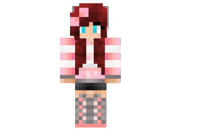 http://img.mod-minecraft.net/Skin/Cute-pink-girl-skin.png