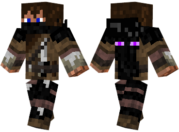Enderman Hunter Skin Mod Minecraftnet