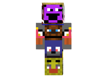 Fnaf all for sure skin minecraft mods