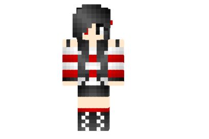 how to make cute minecraft girl skins