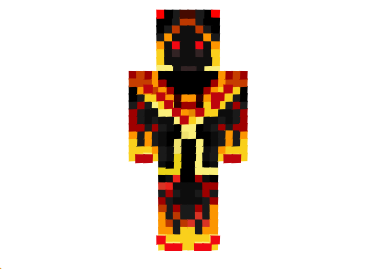 Zombey Fire Skin For Minecraft Minecraft Skins